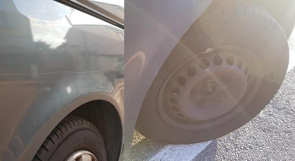 legnano danni auto giornalista borsa