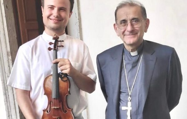 milano sanvittoreolona arcivescovo violino stradivari