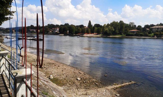 Lago maggiore secca folli