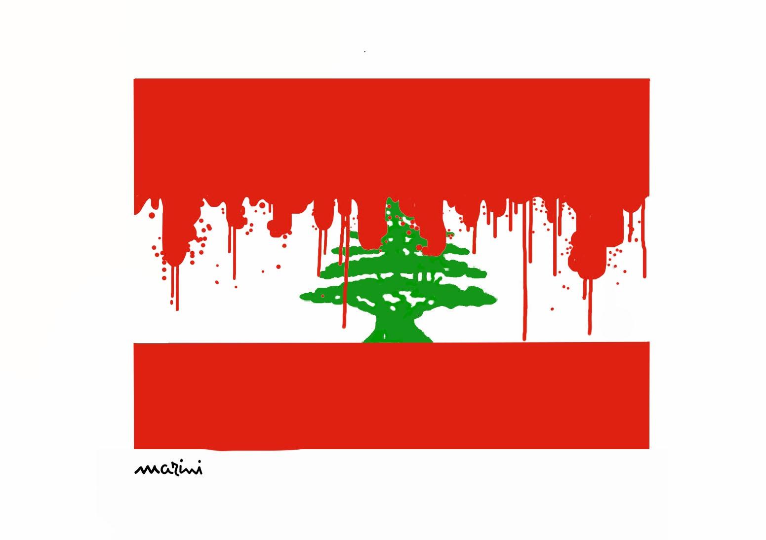 libano esplosione marini targedia