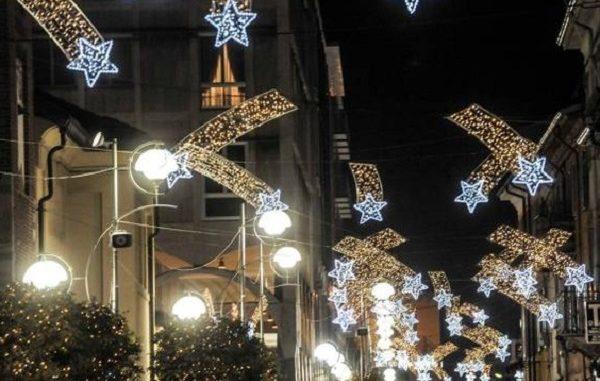 busto luminafrie natalizie giunta