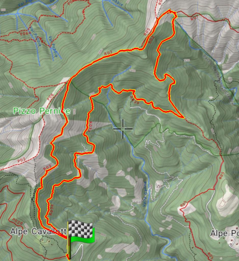 mappa Piancavallone