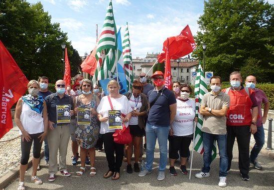 sanità privata protesta sindacati 01