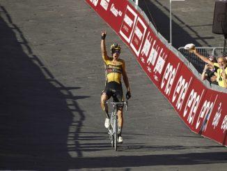 ciclismo strade bianche van aert