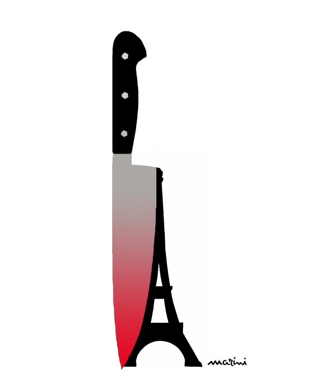 valerio marini parigi attentato