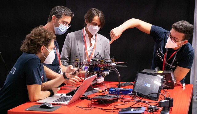 vergiate drone contest leonardo