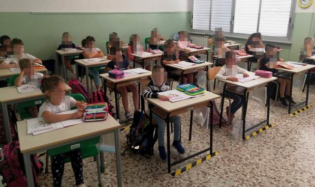 Albizzate zorzo riapertura scuola