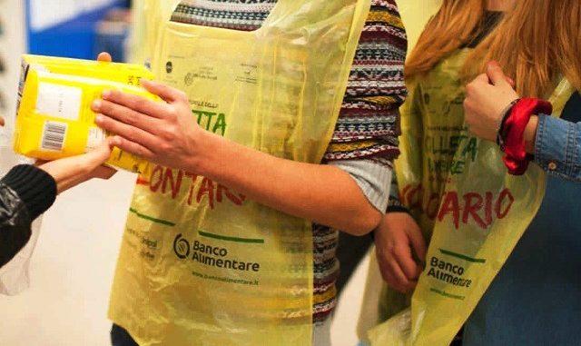 vergiate raccolta cibo supermercati