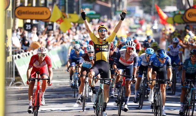 Tour vince Van Aert