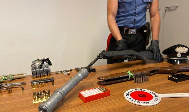 gallarate laboratorio armi clandestine