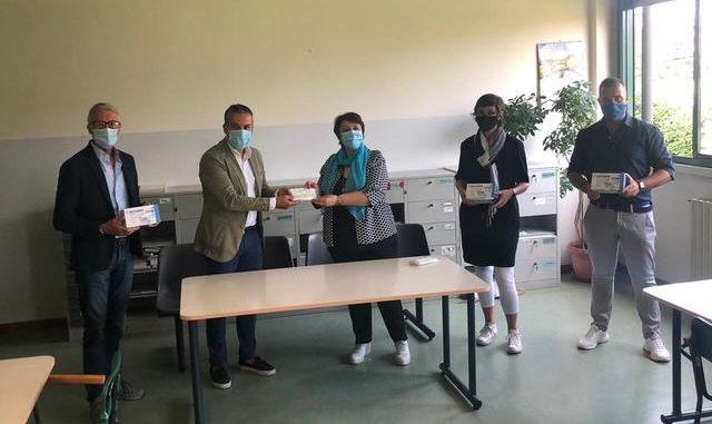 cassano mascherine studenti