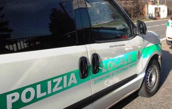 castanoprimo polizialocale ubriaco minacce