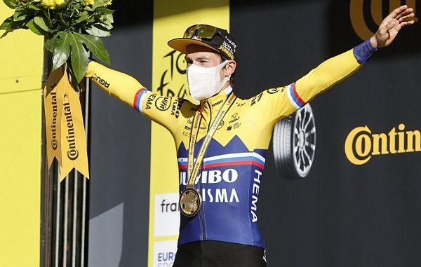 ciclismo roglic tour tappa