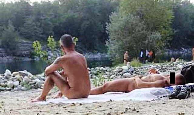 Nudismo spiagge Vizzola Ticino