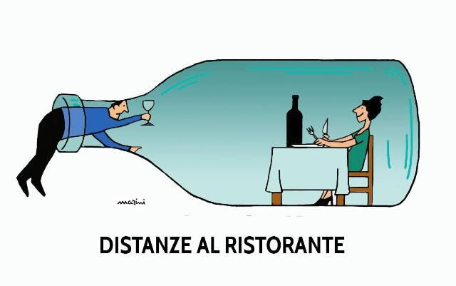 ristoranti distanze covid