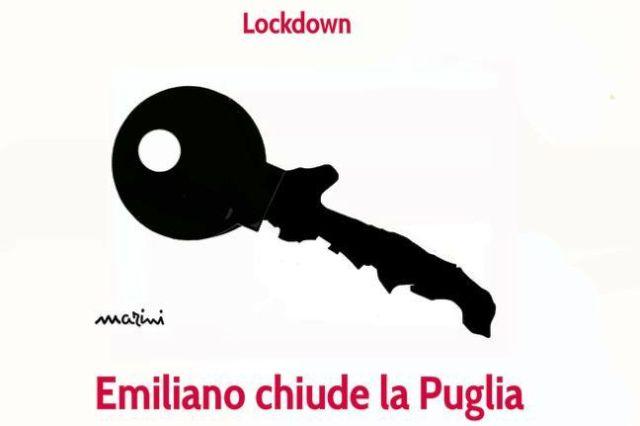 lockdown puglia emiliano