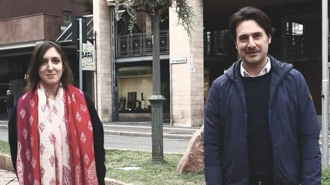 Italia viva Giulia Regalbuto e Giuseppe Licata