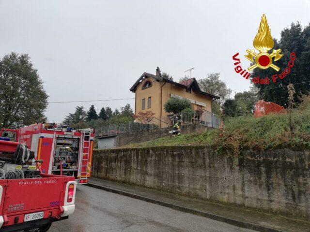 golasecca incendio figlio sindaco