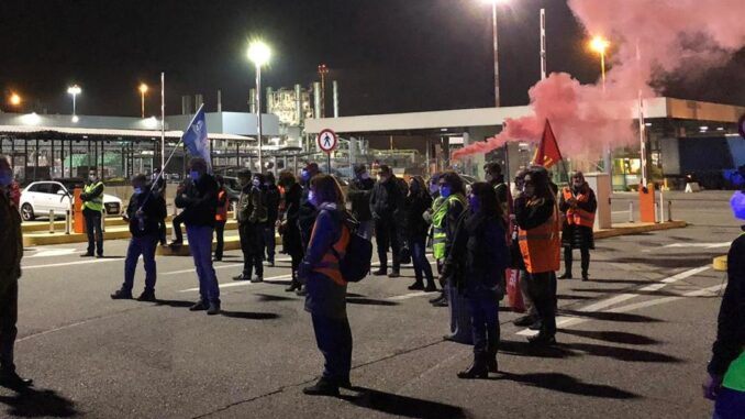 malpensa airport handling ags proteste