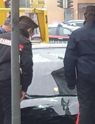 parabiago furto bancomat sparatoria carabinieri