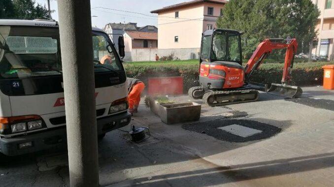 san vittore olona lavori sempione cantiere