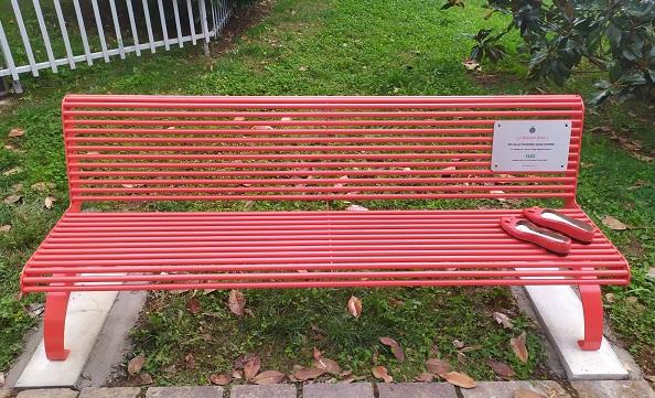 solbiate olona panchina rossa femminicidio