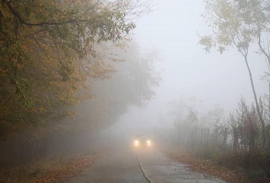 tempo stabile nubi nebbia