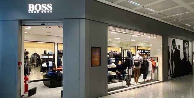 malpensa hugo boss shopping
