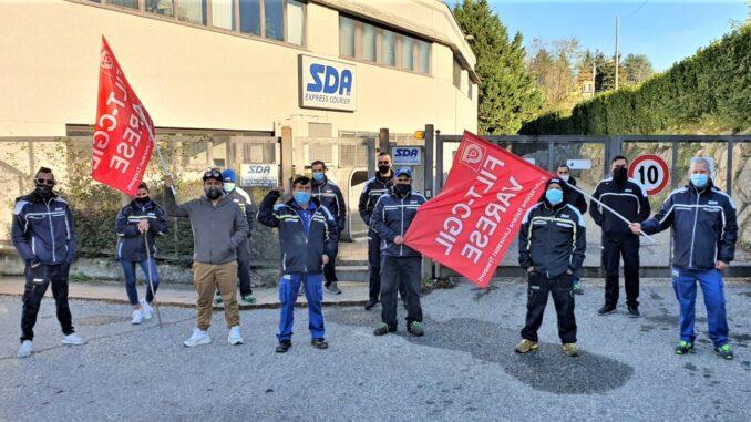 gazzada proteste dipendenti sda