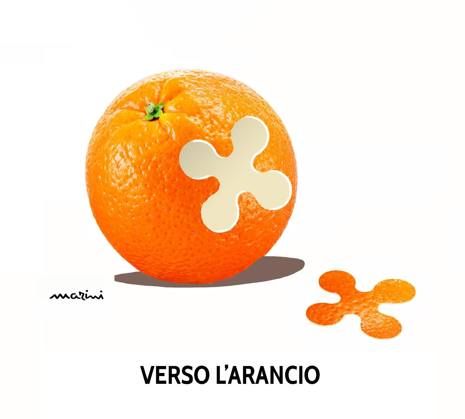vignetta valerio marini lombardia arancione