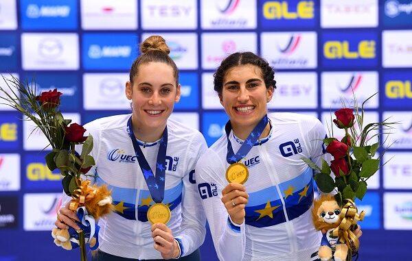 ciclismo europei pista medaglie