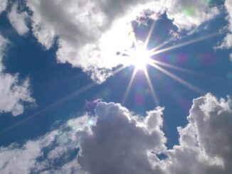 bel tempo aumento nuvole