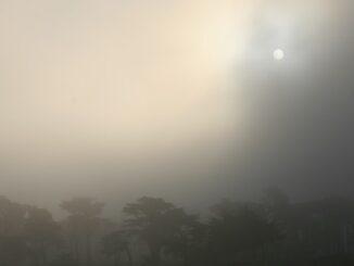 nuvole nebbie diffuse pressione