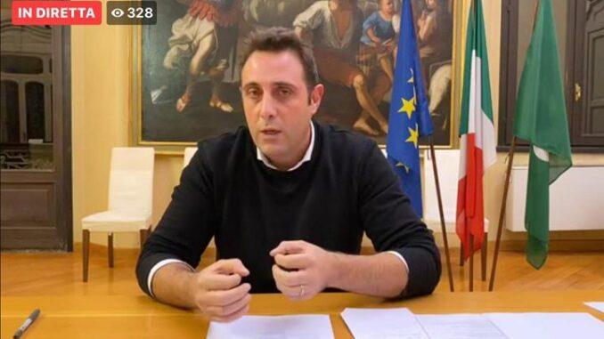 castanoprimo diretta sindaco dpcm