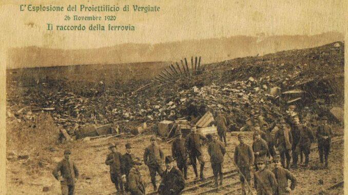 vergiate cento anni scoppio polveriera