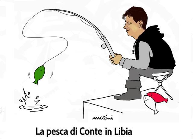 conte pescatori libia