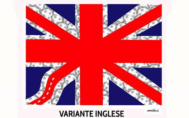 covid variante inglese
