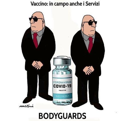 vaccini servizi segreti