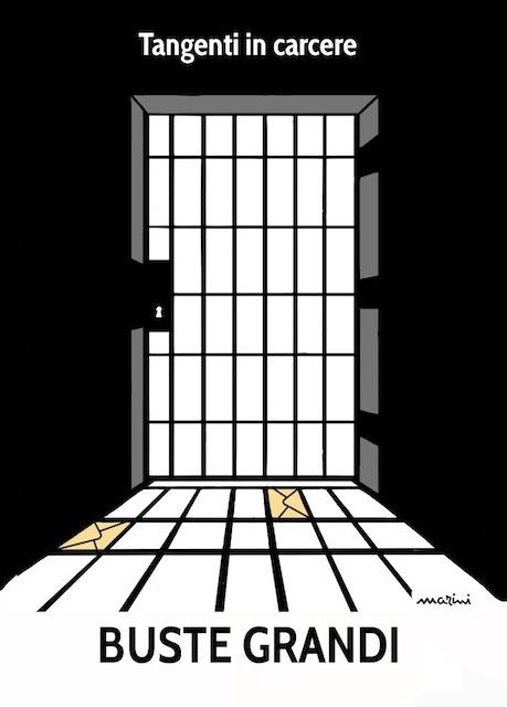 carcere busto mazzette marini vignetta