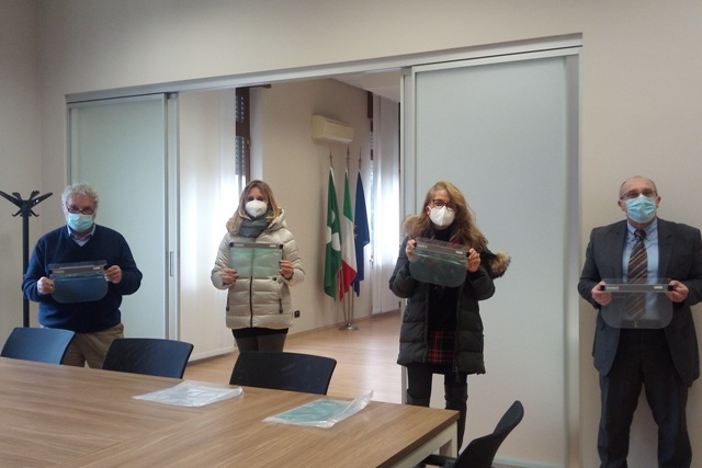 busto caos visiere ospedale
