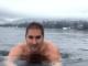 monate nevicata tuffo lago