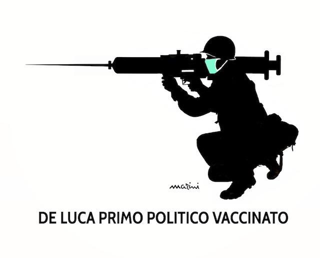 vignetta covid marini vaccino