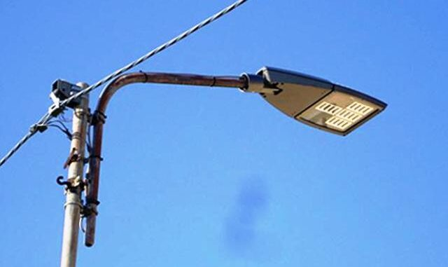 gallarate illuminazione led lampioni-