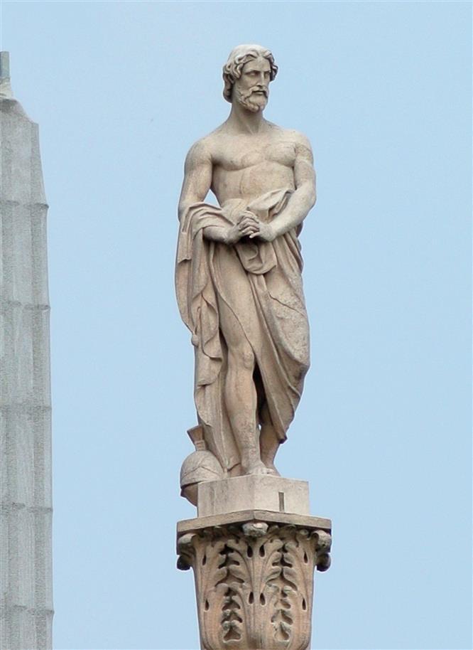 daverio goglio statua duomo milano