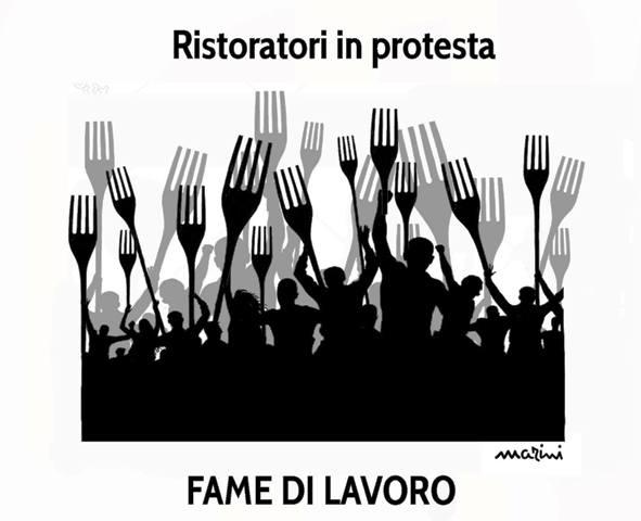 protesta ristoranti