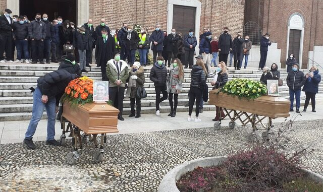 samarate funerali erica lorenzo