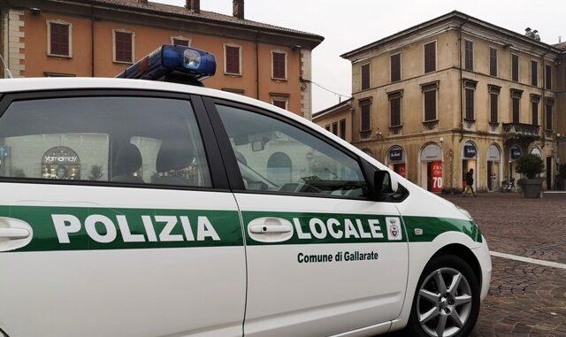 gallarate polizia locale truffa