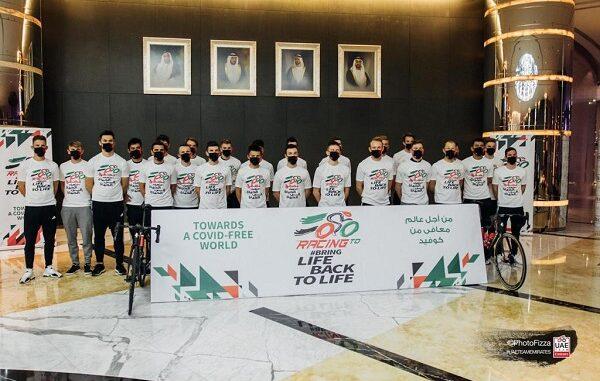 ciclismo uae vaccino emirati