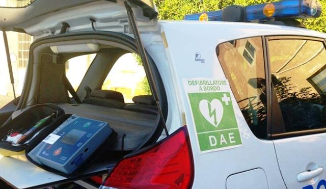 gallarate polizia droni defibrillatori