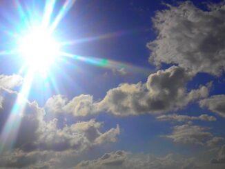 anticipo primavera nubi sole